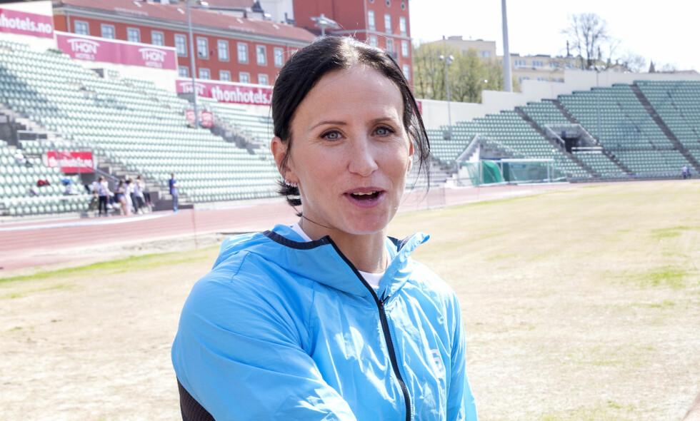 ELSKER SIN NYE HVERDAG: I et intervju med Dagbladet Magasinet forteller Marit Bjørgen (38) at karrierestoppet har gitt henne friheter som hun lenge har drømt om. Her avbildet forrige måned. Foto: NTB Scanpix