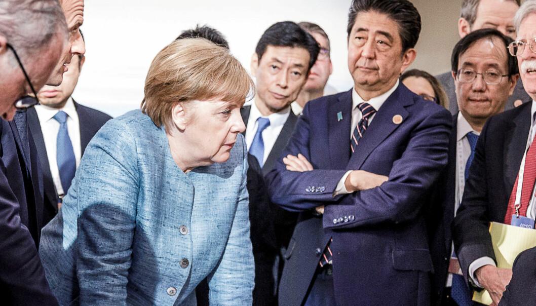 Merkel gir seg - Europa uten voksne