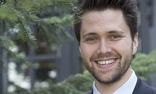 KREVER HANDLING: FpU- leder Bjørn-Kristian Svendsrud synes moderpartiet FrP bør gjøre mer for å redusere norske avgifter. Foto: Terje Bendiksby / NTB scanpix