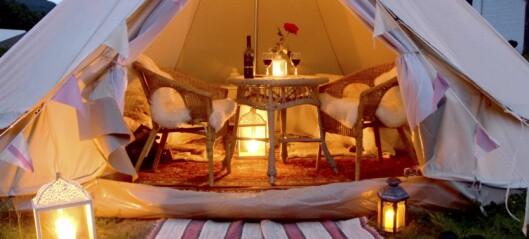 Slik får du dratt på luksus-camping
