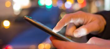 Mobilfunksjonene for deg med nedsatt syn