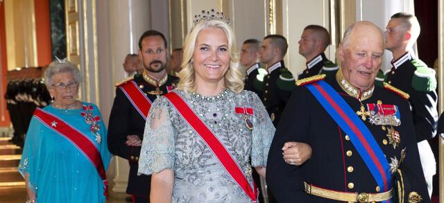 531a7bce Kronprinsesse Mette-Marit - Slik gjorde hun gammel kjole «ny» igjen ...