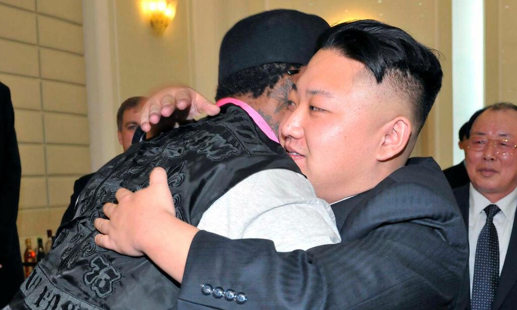 image: Drapstruet for vennskapet med Kim. Nå gråter basketstjerna i Trump-lykke