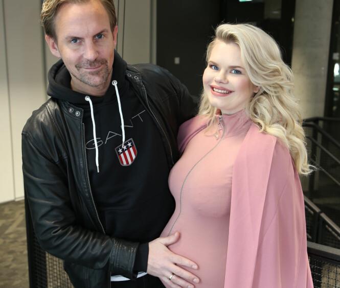 BLIR FORELDRE: Ulrik og Julianne Nygård venter spent på sønnen Severin som kommer i juni. Foto: Privat