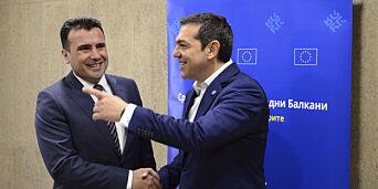 image: Makedonia skifter navn - 27 år lang navnestrid løst