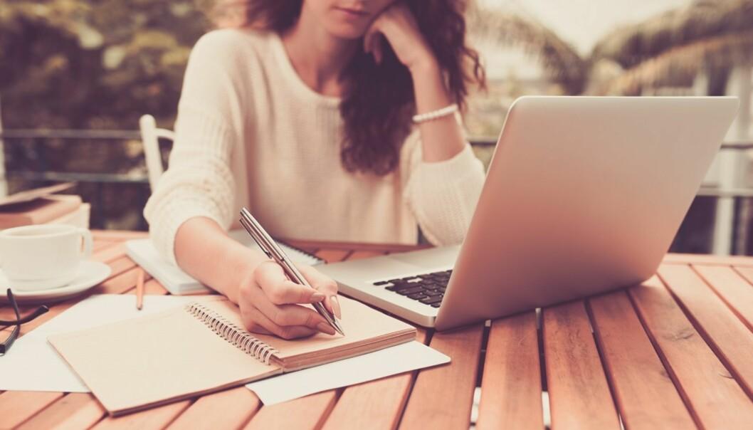 DELMÅL: Å dele opp utfordringen kan hjelpe deg å komme enklere gjennom den. FOTO: Shutterstock