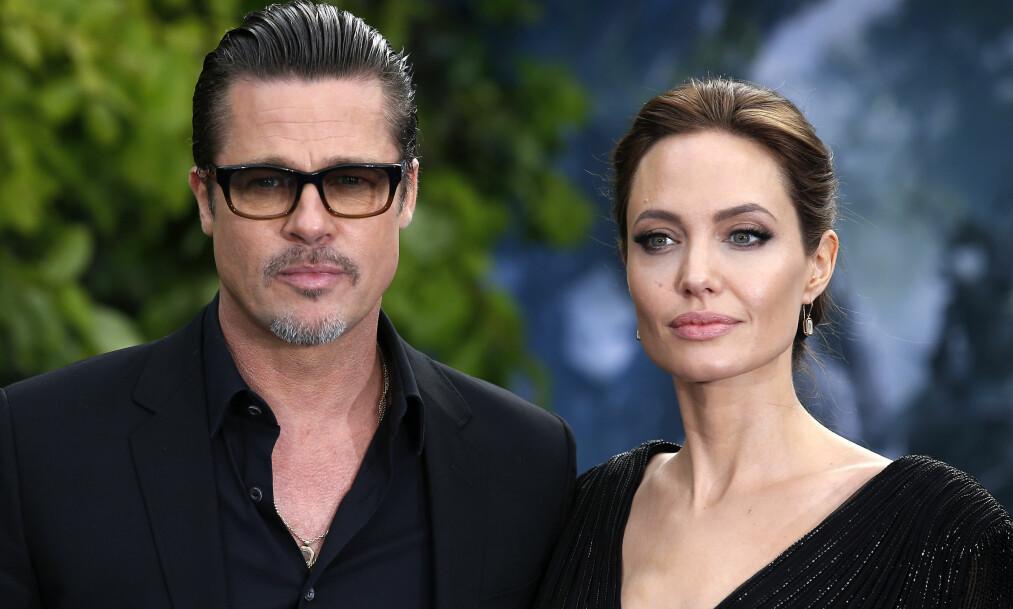 UENIGE: Skilsmissen mellom Brad Pitt og Angelina Jolie har gått alt annet enn enkelt for seg. Foto: NTB scanpix