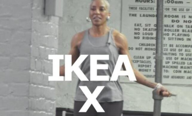 KOM I FORM: Foreløpig vet vi lite om X-teknologien som Ikea skal utvikle sammen med Adidas. Men at det har noe med trening i hjemmet å gjøre, er vi sikre på. Foto: Ikea/Adidas