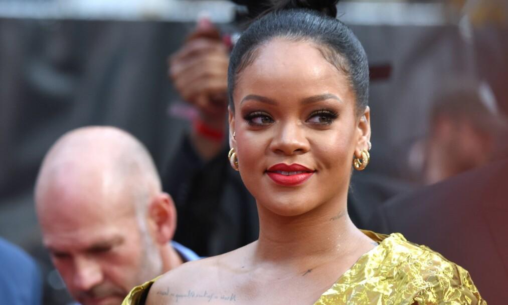 SPEKULASJONER: Fansen lurer nå på om verdensstjernen Rihanna (31) snart kommer til å forlove seg. Foto: NTB Scanpix