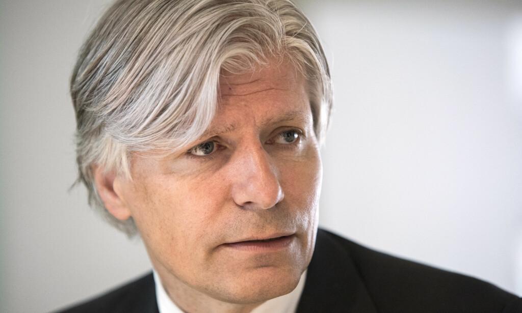 STOR JOBB FORAN SEG: Klima- og miljøminister Ola Elvestuen. Foto: Ole Berg-Rusten / NTB Scanpix