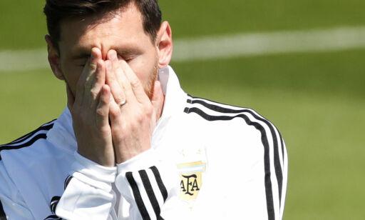 image: Island vil ikke mannsmarkere Messi: - Ville vært urettferdig