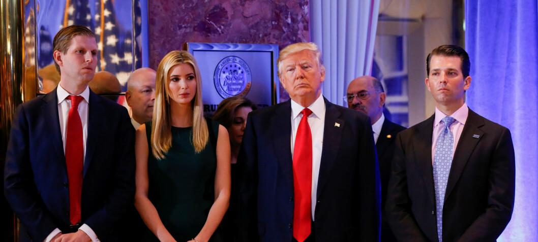 - Pappas liv har blitt mye verre etter at han stilte som president