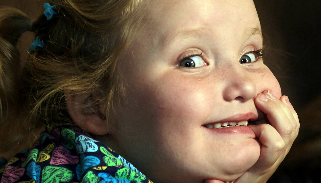 <strong>DEN GANG DA:</strong> «Honey Boo Boo»-stjernen avbildet høsten 2012, den gang hun var bare syv år gammel. Foto: AP/ NTB scanpix