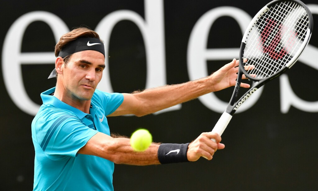 NUMMER EN: Roger Federer. Foto: AFP PHOTO / THOMAS KIENZLE