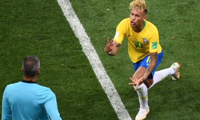 bbcfc374 FRUSTRERENDE: Neymar og Brasil klarte ikke å sette sjansene mot Sveits. Men  Brasil er