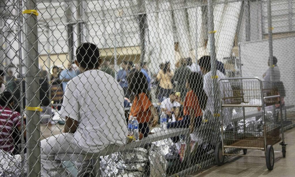 image: Internering av barn på grensa til Mexico: Trump blir anklaget for å bruke barna som pressmiddel