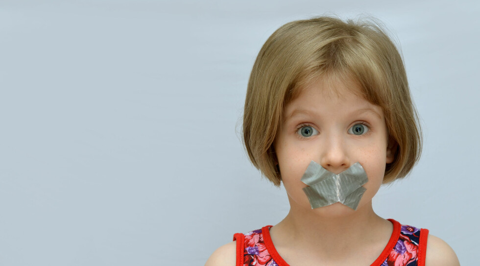 Selektiv mutisme. Foto: NTB Scanpix / Shutterstock