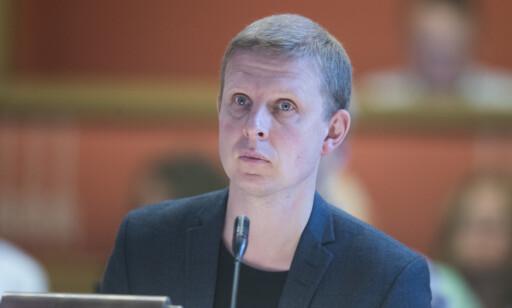 KrFs Erik Lunde er ikke overrasket over at Listhaug holder på sitt. Foto: Terje Pedersen / NTB scanpix