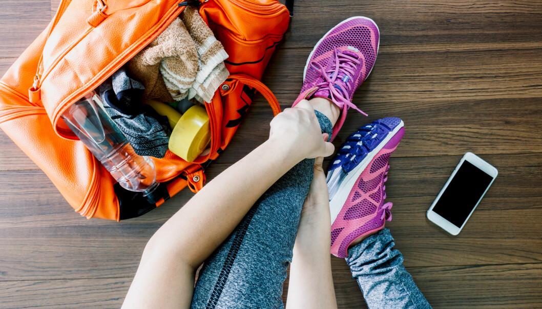 VARIER TRENINGEN: Frister sofaen ofte mer enn å dra på trening? - Det anbefales å variere treningen så man skal unngå å bli lei, forteller Julie Rafoss. FOTO: NTB scanpix