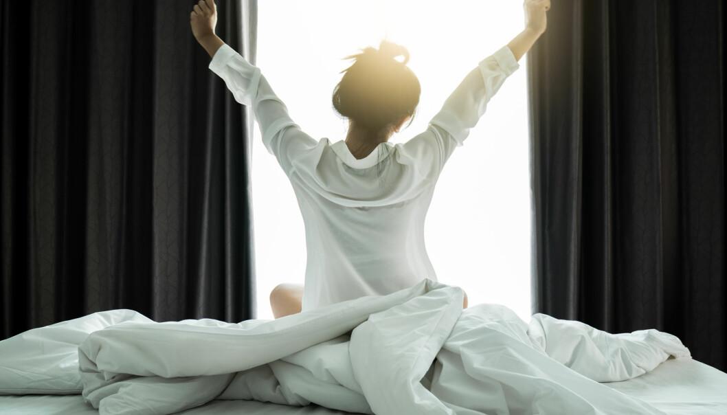SØVN: Ja, du kan faktisk våkne til et fast tidspunkt uten vekkerklokke. FOTO: NTB scanpix