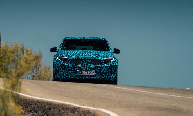 <strong>SIGNATUR:</strong> Front- og baklykter vil utgjøre klare signaturer for den nye modellen. Foto: Daimler