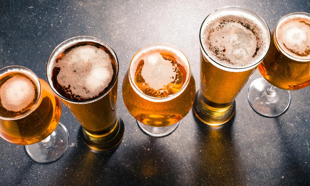 VALGETS KVAL: Utvalget i øl har eksplodert. Mange foretrekker av ulike årsaker Lite-øl med færre kalorier og mindre karbohydrater. Foto: Shutterstock
