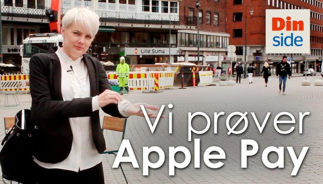 Slik fungerer Apple Pay i Norge