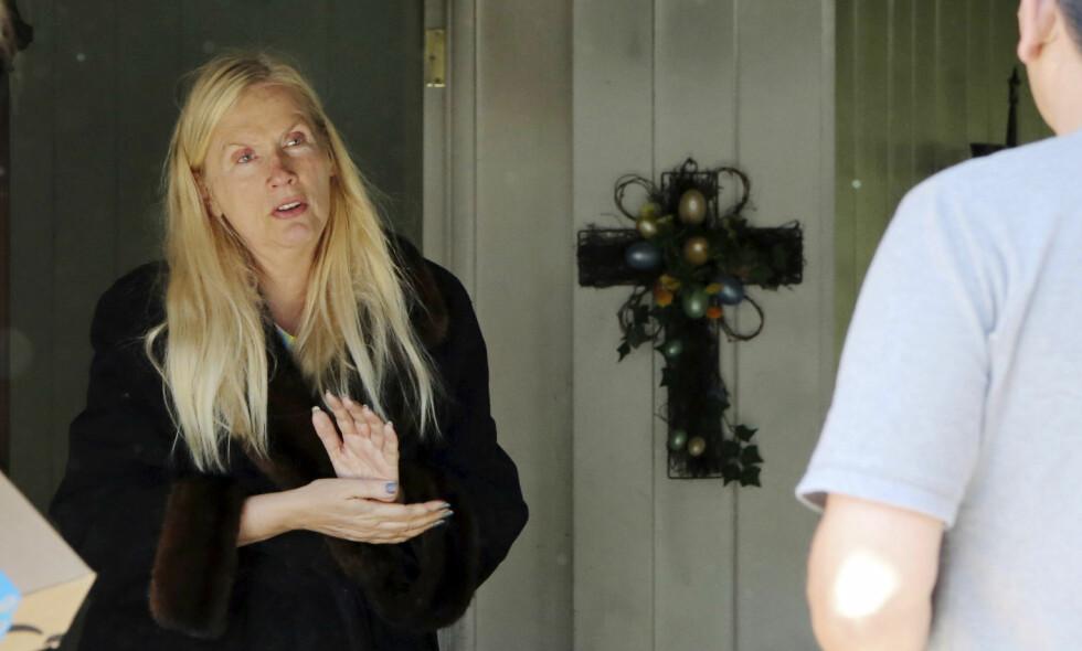ARRESTERT: Den Svenske «Hollywoodfruen» Gunilla Persson, ble i mai pågrepet av politiet i Palm Beach, Florida, mistenkt for grovt tyveri. Foto: NTB Scanpix