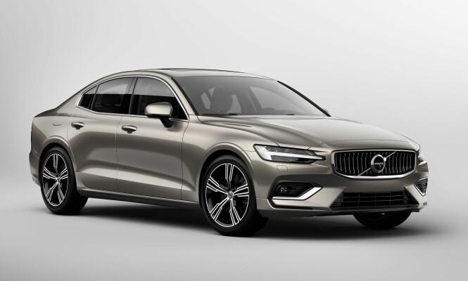 <strong>KJØLIG ELEGANSE:</strong> Volvo har funnet sin form og S60 fremstår harmonisk etter vår mening. Kan risikoen være at de kjører seg fast i et monotont designspor? Foto: Volvo