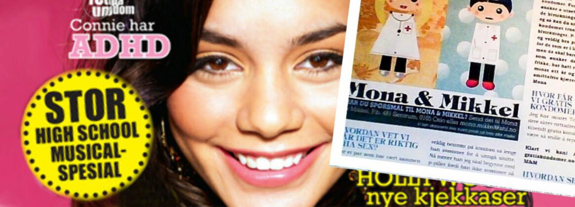 GJENOPPSTÅR: TOPP søker profiler til «Mona og Mikkel»-spalte. FOTO: TOPP