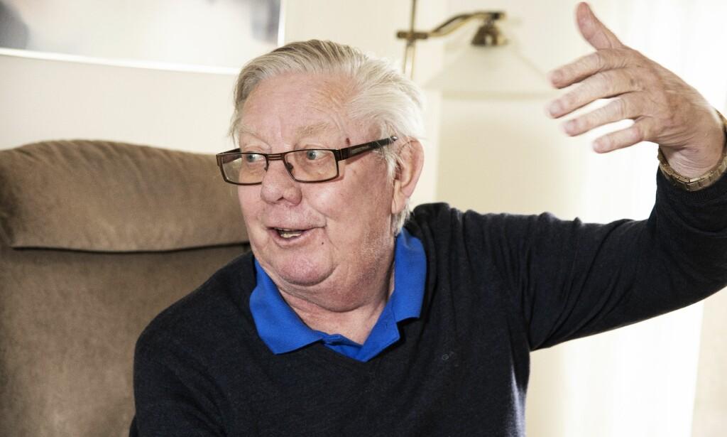 HAR TRUA: Nils Arne Eggen har alltid tro på sitt Rosenborg. Også denne gang, selv om det er Celtic som venter i Glasgow. Og han har sitt å si om Nicklas Bendtner-saken. Foto: Hans Arne Vedlog / Dagbladet
