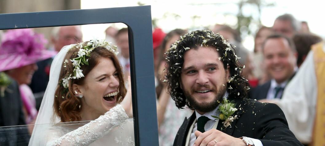 Nå er «Game of Thrones»-paret gift
