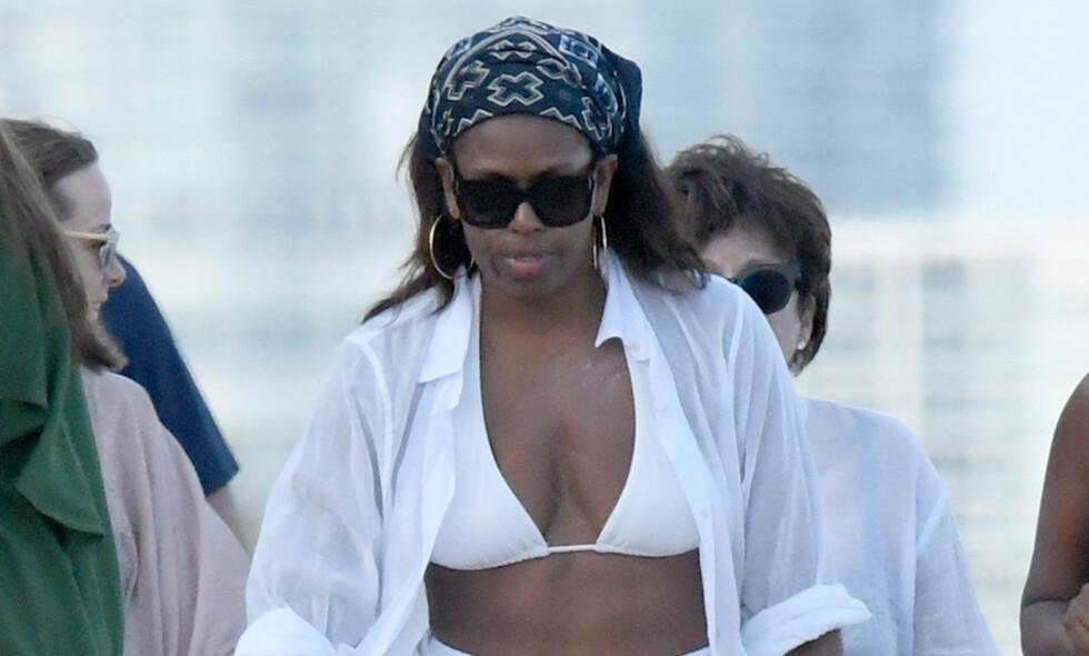 NY HVERDAG: Michelle Obama uttrykket lettelse da familien skulle flytte fra Det hvite hus etter åtte år. Nå lever hun en mer avslappet hverdag. Foto: NTB scanpix