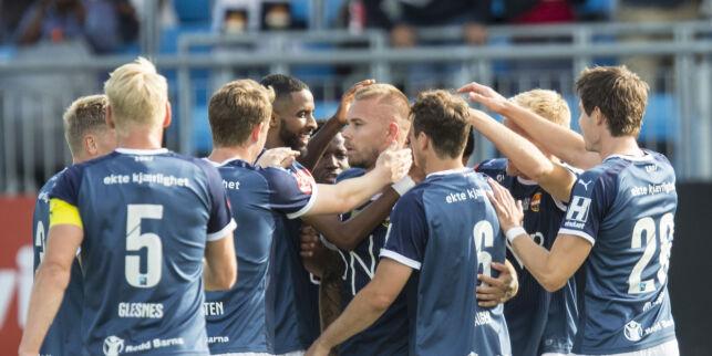 image: Eliteserie-toppscoreren med nydelig mål da Godset banket Ranheim