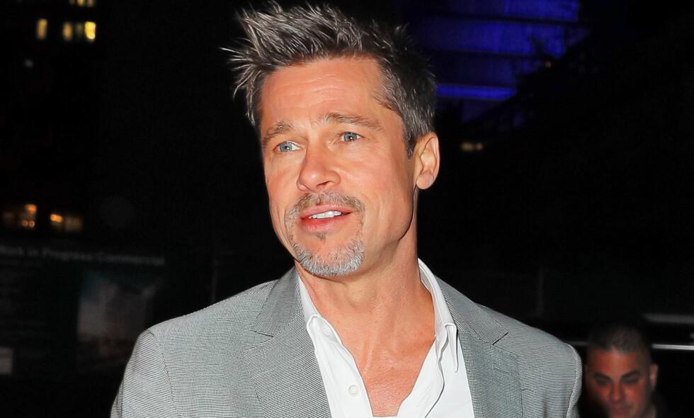 HAR SAVNET BARNA: Hollywood-stjernen Brad Pitt har vært gjennom en tøff tid etter at skilsmissen med Angelina Jolie ble et faktum for snart to år siden. Foto: NTB scanpix