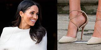 image: Derfor bruker hertuginne Meghan for store sko