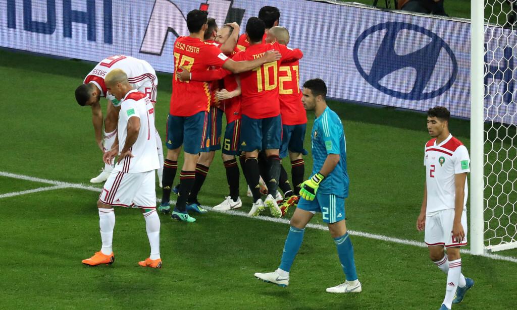 NO ISCO NO DISCO: Isco spilte en fantastisk kamp for Spania og satte inn 1-1 etter 19 minutter. Foto: NTB Scanpix