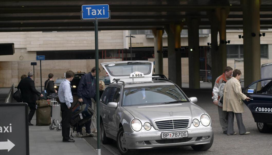 Kunde forsøkte å betale drosjeregningen med tankeoverføring