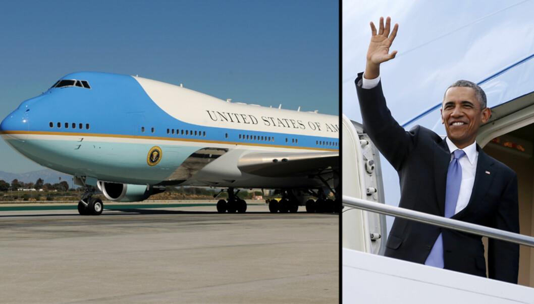 Slik ser det ut på innsiden av Obamas luksusfly