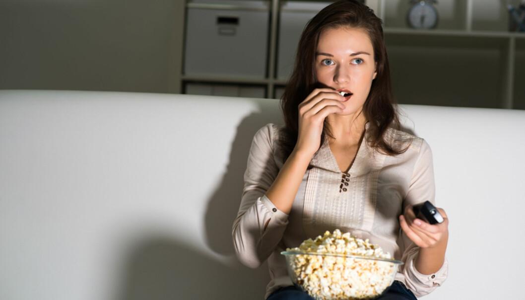 Dette skjer når du ser på TV i mange timer i strekk
