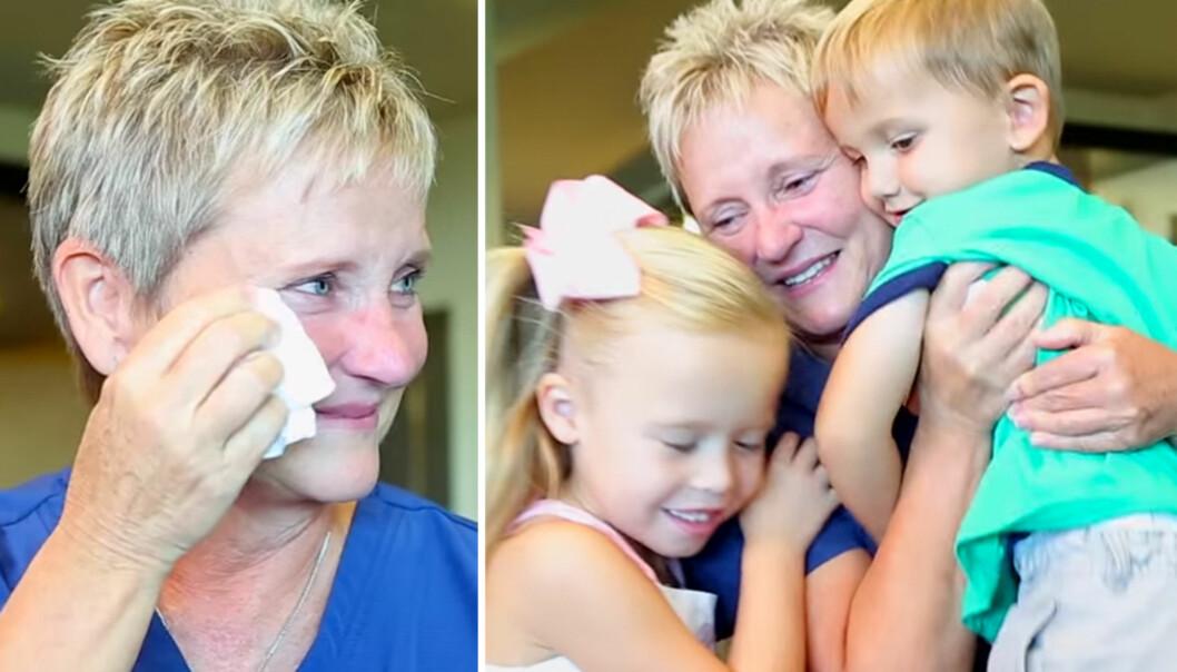 Mirakel-sykepleier fikk rørende gjensyn med livene hun har reddet