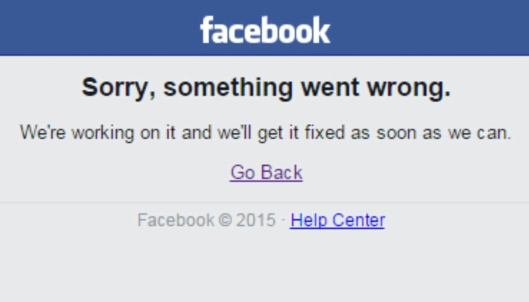 11 ting du kan gjøre når Facebook er nede