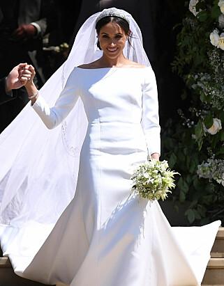 GÅR SINE EGNE VEIER: Også når det gjaldt valg av brudekjole, ifølge moteredaktør. Foto: Reuters / NTB Scanpix