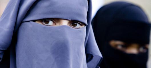 Nederland innfører forbud mot burka og nikab