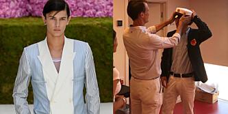 Prins Joachims rørende hilsen til modellsønnen