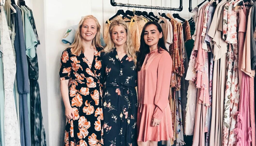Her er jentene som vil leie ut klærne dine til Gunhild Stordalen og Jenny Skavlan