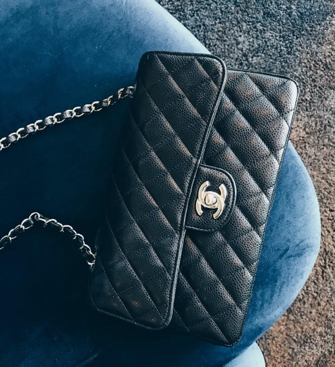 TENK DEG OM: Ja, du kan nok tjene noen kroner på å leie ut Chanel-vesken din, men sørg for at vesken ikke har for høy affeksjonsverdi når du skal leie ut. Foto: Malin Gaden