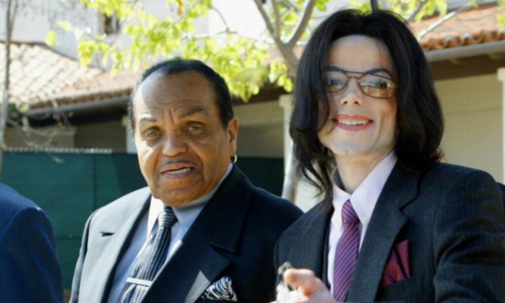 HAR GÅTT BORT: Joseph Jackson far til blant andre Michael Jackson, er død. Foto: NTB Scanpix