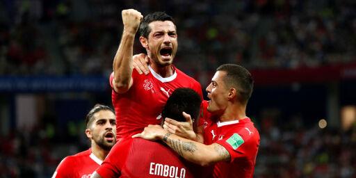 image: Kritisk til Sveits' opptreden: - Det er ikke til å tro