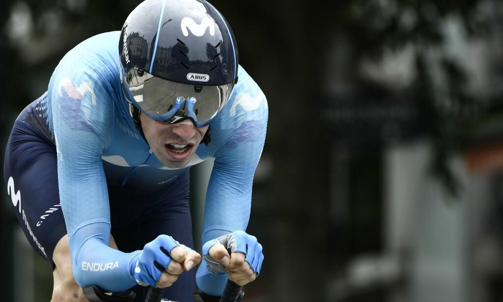 MIDLERTIDIG SUSPENDERT: Jaime Rosón var i aksjon for Movistar Team under Critérium du Dauphiné, men var ikke tiltenkt en plass i Tour de France-oppstillingen til Movistar. Nå har UCI oppdaget uregelmessigheter i hans biologiske blodpass, som daterer seg tilbake til januar, 2017. FOTO: Philippe Lopez/Scanpix